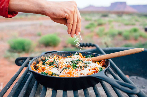 One Pot Protein Pasta from Fresh off the Grid