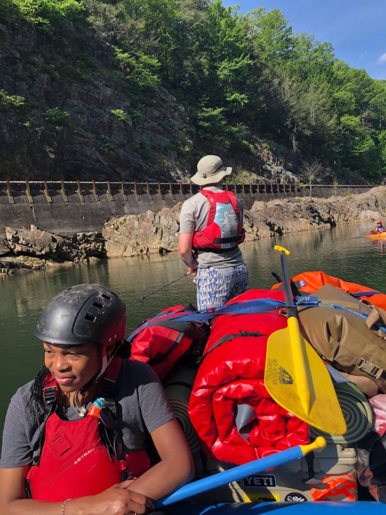 Rafting on the Nolichuky