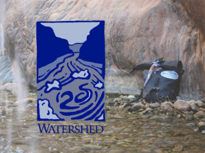 Watershed 25th Anniversary Logo